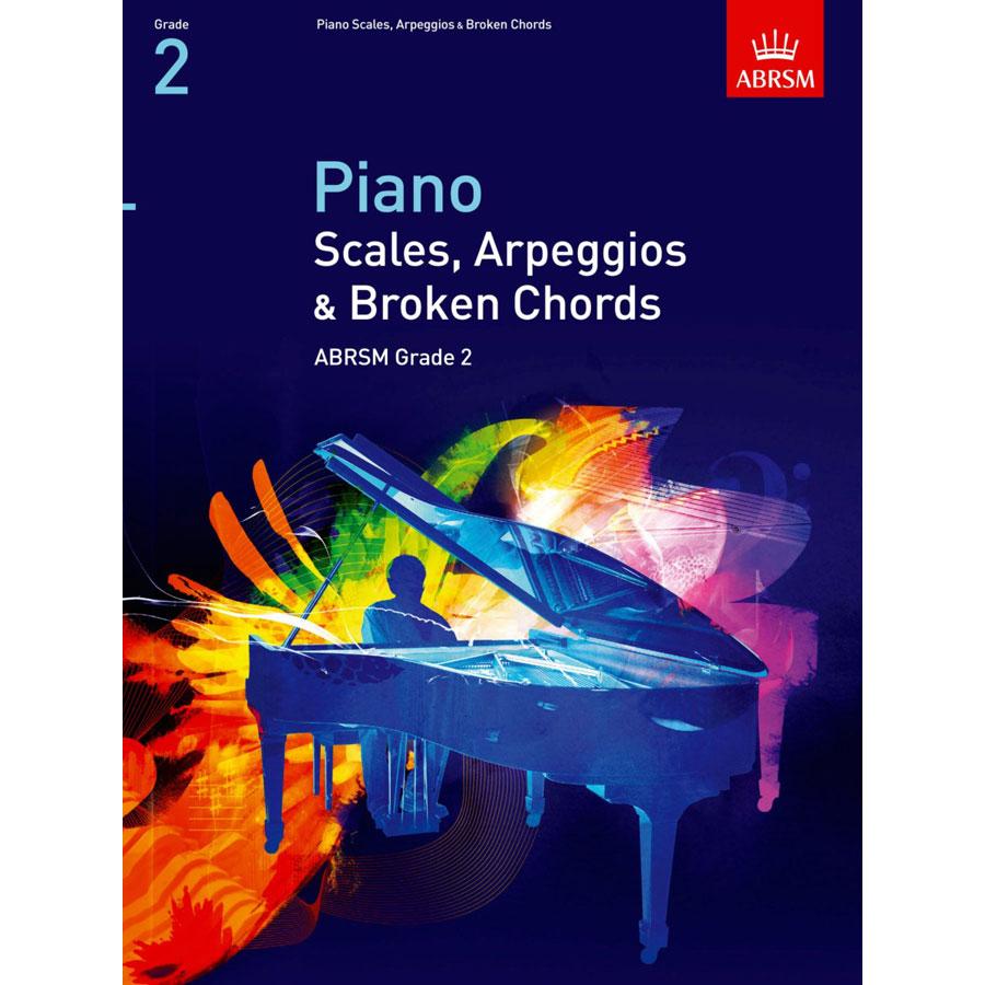 Piano Grade 2 Scales & Arpeggios (ABRSM)