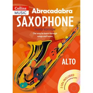 Abracadabra Saxophone 3rd Ed w/CD