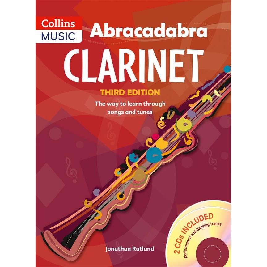 Abracadabra Clarinet 3rd Ed w/CD