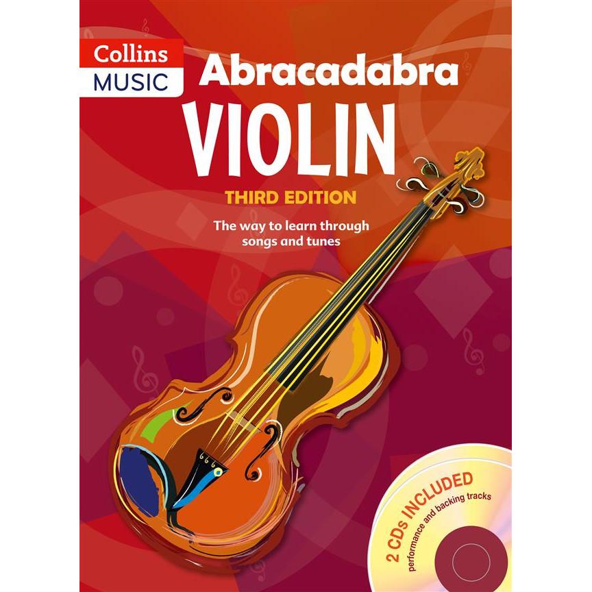 Abracadabra Violin 3rd Ed w/CD