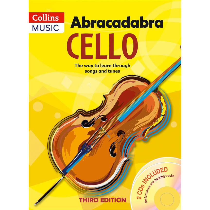 Abracadabra Cello 3rd Ed w/CD