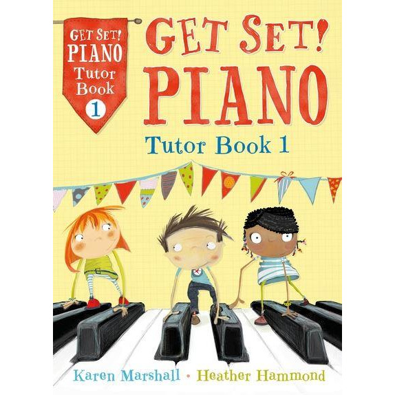 Get Set! Piano Tutor Book 1