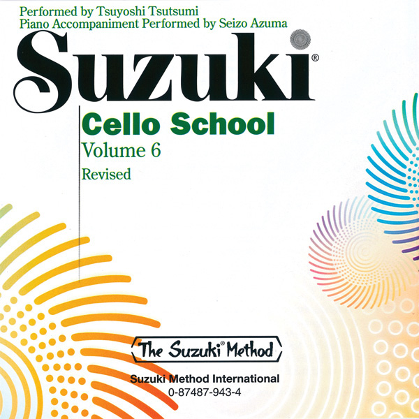 Suzuki Cello School Volume 6 CD