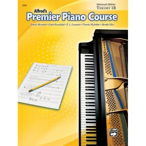 Alfred's Premier Piano Course - Theory 1B (UE)
