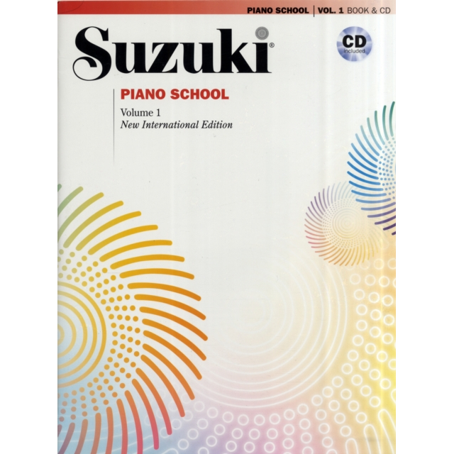 Suzuki Piano School Volume 1 w/CD