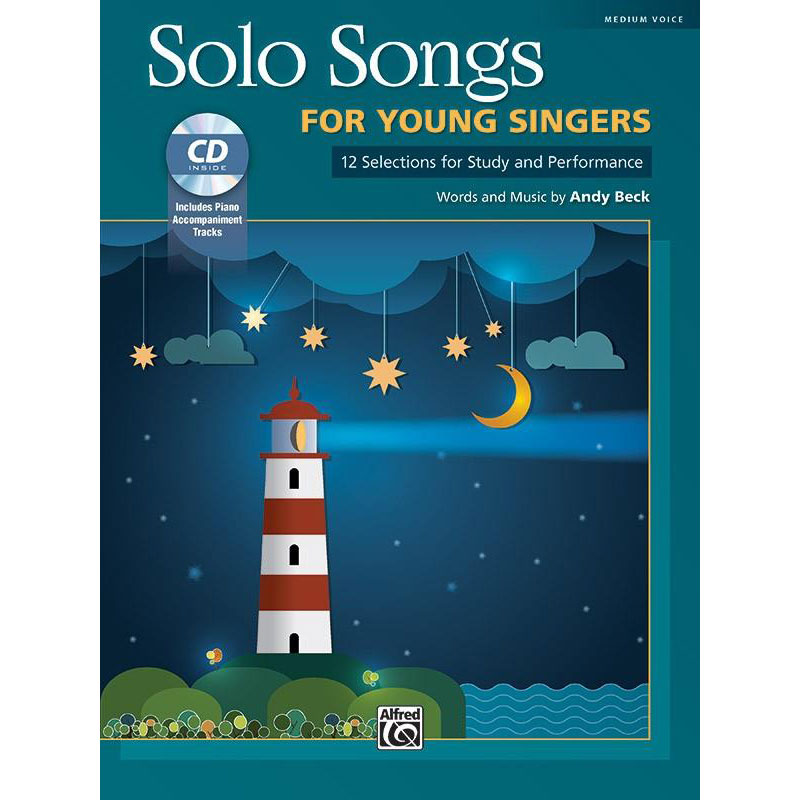 Solo Songs - For Young Singers w/CD