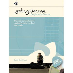 Justinguitar.com Beginner's course BK/2CDs Spiral