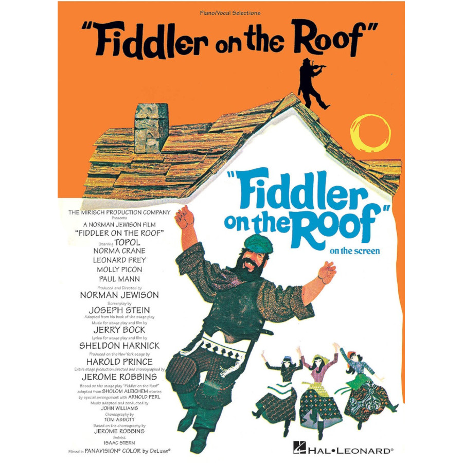 Jerry Bock: Fiddler On The Roof - Vocal Selections
