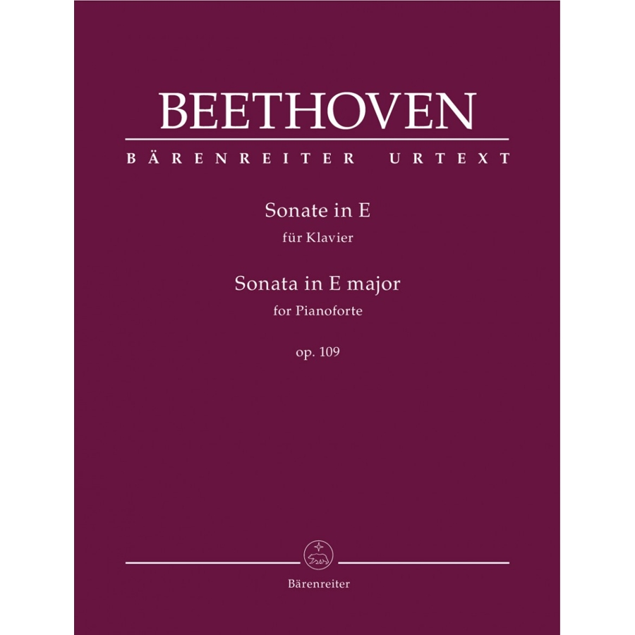 Beethoven Sonata in E major op. 109