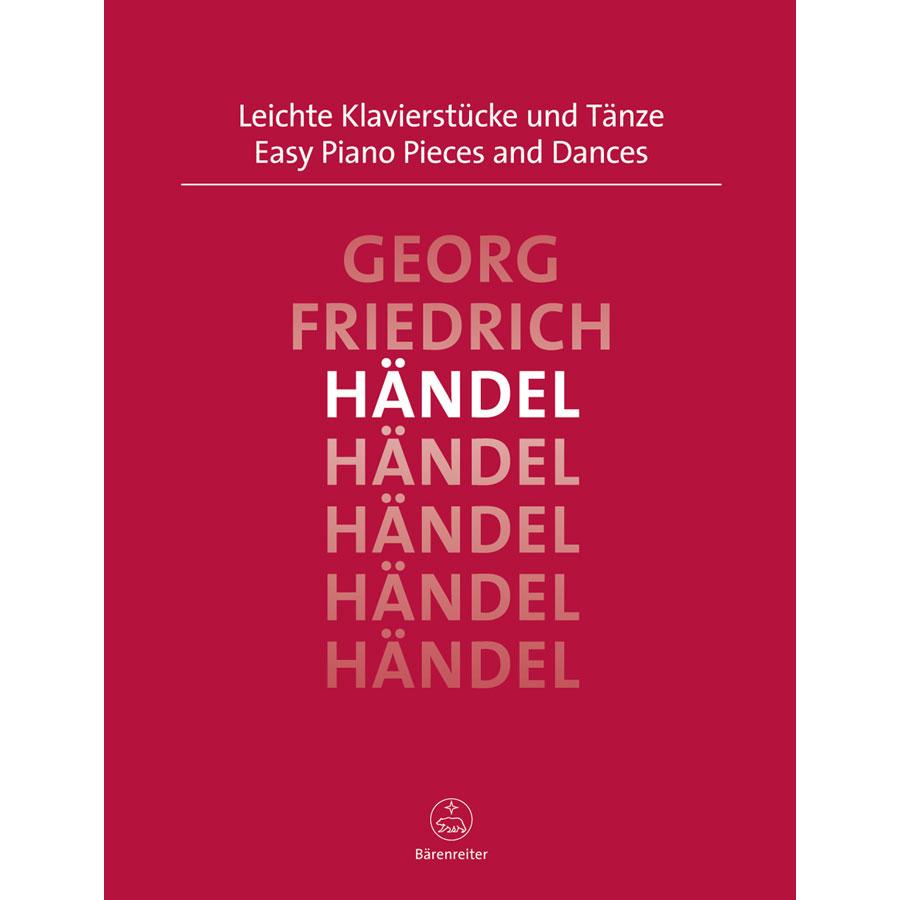 Handel: Easy Piano Pieces & Dances