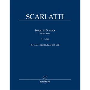 Scarlatti Sonata in D minor K1/L366