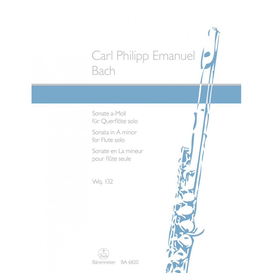 Sonata A Min WQ 132 Flute