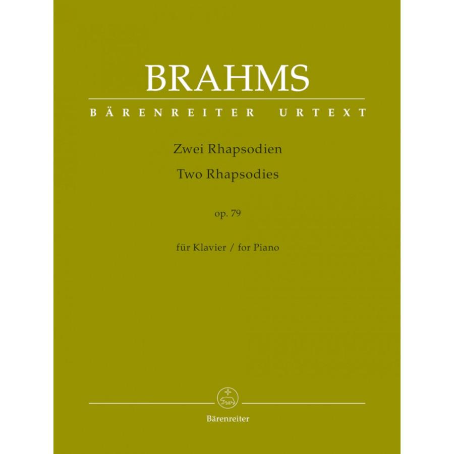 Brahms: Two Rhapsodies Op. 79