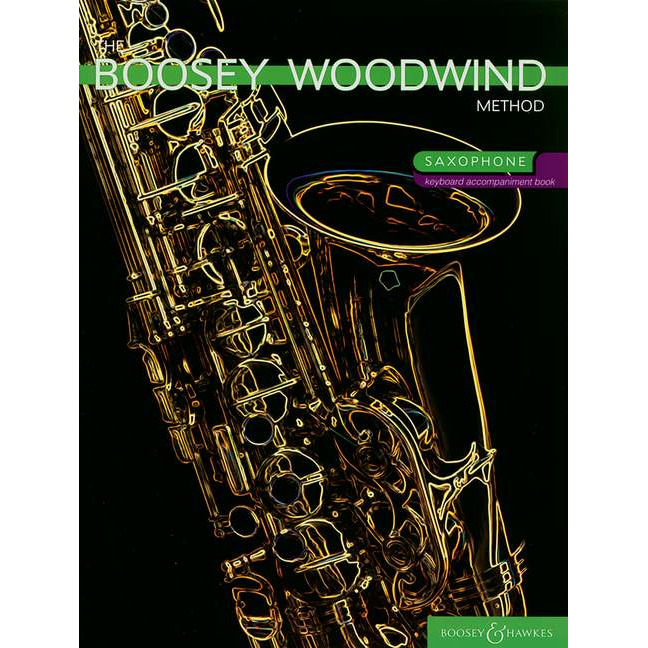 Boosey Woodwind Method Sax - Piano Accompaniment