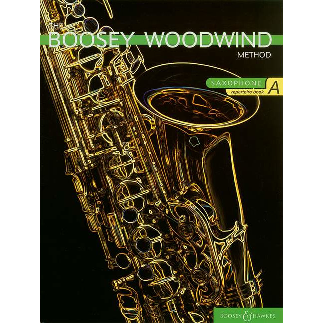 Boosey Woodwind Method Sax Repertoire Book A