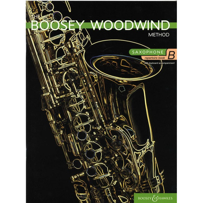 Boosey Woodwind Method Sax Repertoire Book B