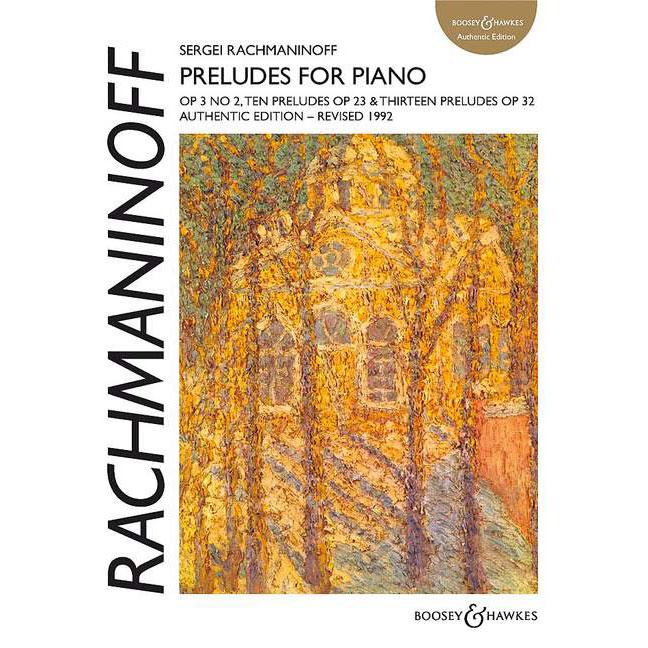 Rachmaninoff Preludes for Piano