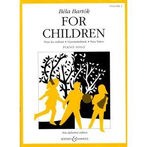 Bela Bartok: For Children Volume 1 (Piano)