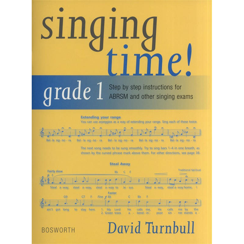 David Turnbull: Singing Time! Grade 1