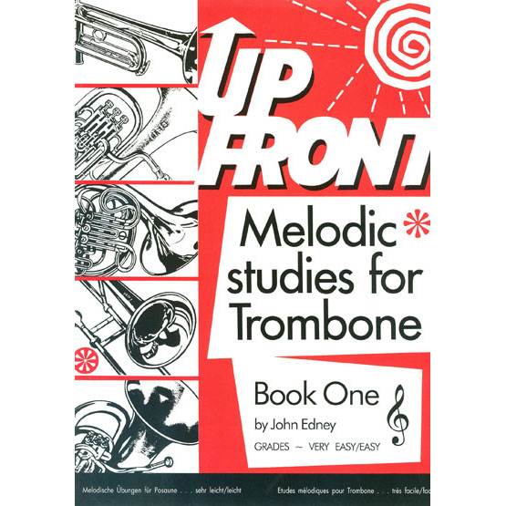 Up Front Album for Trombone Book One