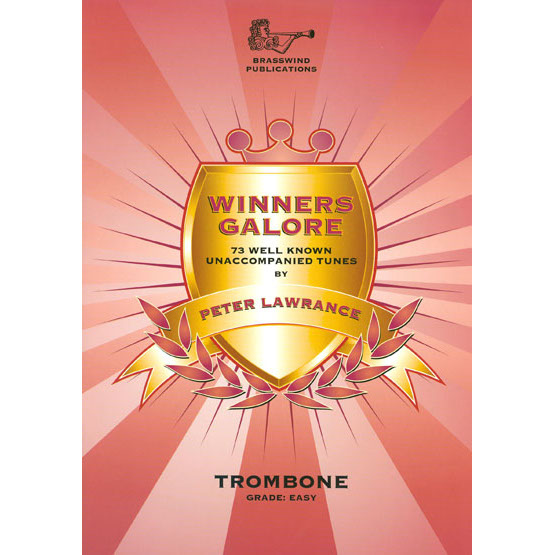 Winners Galore for Trombone Bass Clef (with CD)