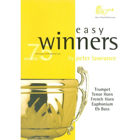 Easy Winners for Treble Brass w/CD