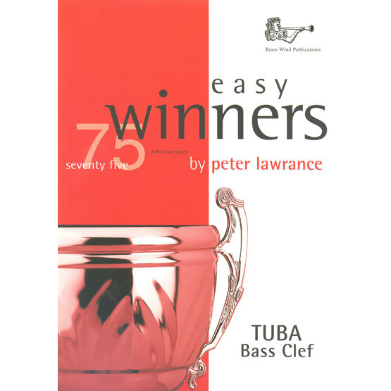 Easy Winners for Tuba Bass Clef (with CD)