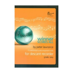 Winner Scores All Descant Recorder
