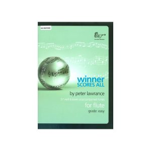 Winner Scores All Flute With CD