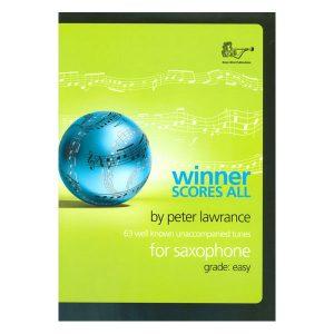 Winner Scores All for Saxophone