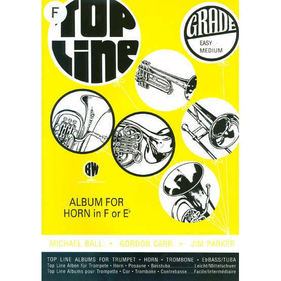 Top Line Album for Horn in F