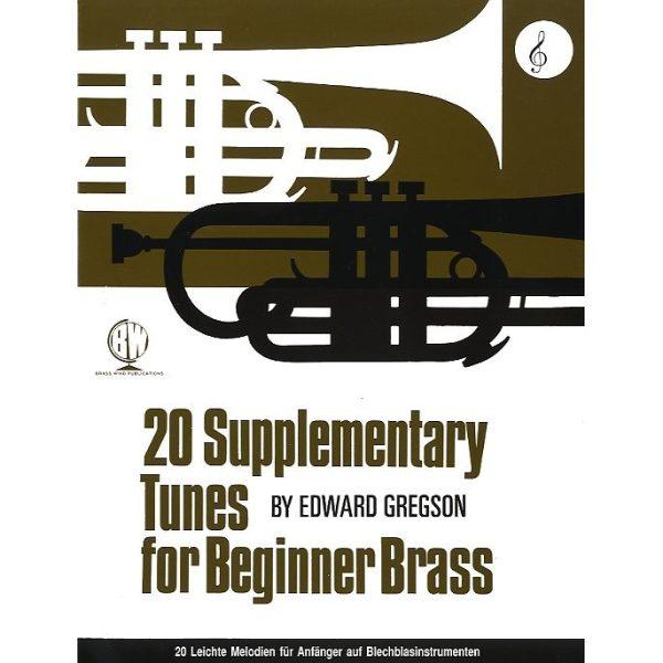20 Supplementary Tunes for Beginner Brass (Treble)