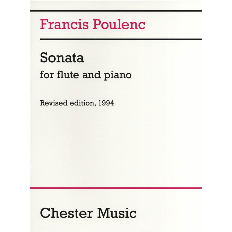 Francis Poulenc: Sonata for Flute and Piano