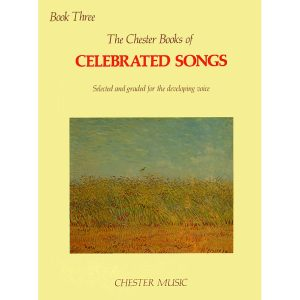 The Chester Book Of Celebrated Songs - Book 3