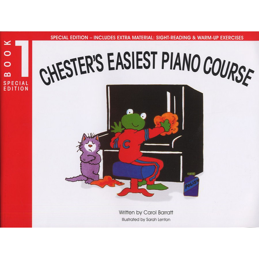 Chester's Easiest Piano Course Book 1 (Special Ed)