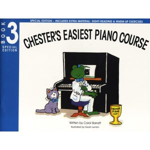 Chester's Easiest Piano Course Book 3 (Special Ed)