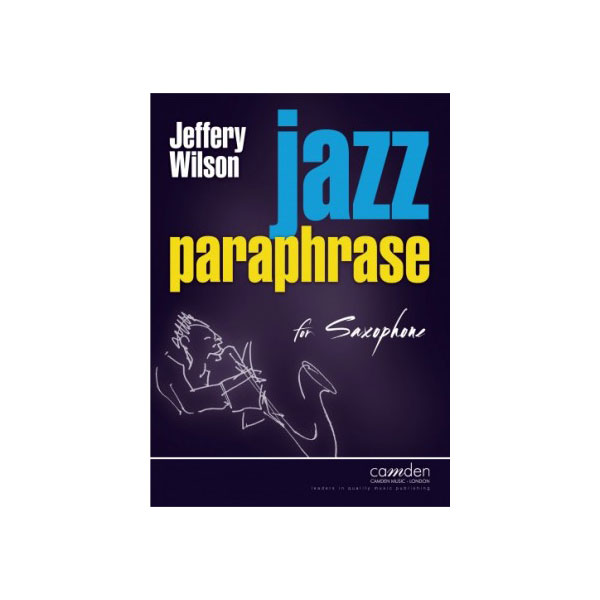 Jazz Paraphrase for Saxophone