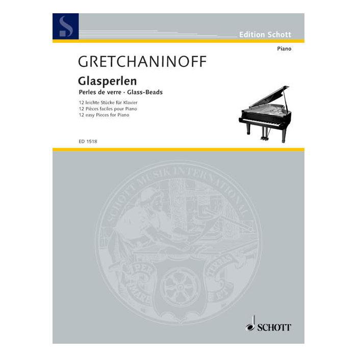 Gretchaninoff Glass Beads (Piano)