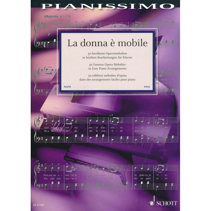 La donna e mobile (Piano)