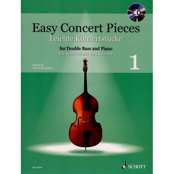 Easy Concert Pieces 1 (Double Bass)