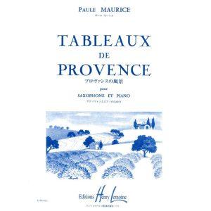 Maurice: Tableaux de Provence (Saxophone & Piano)