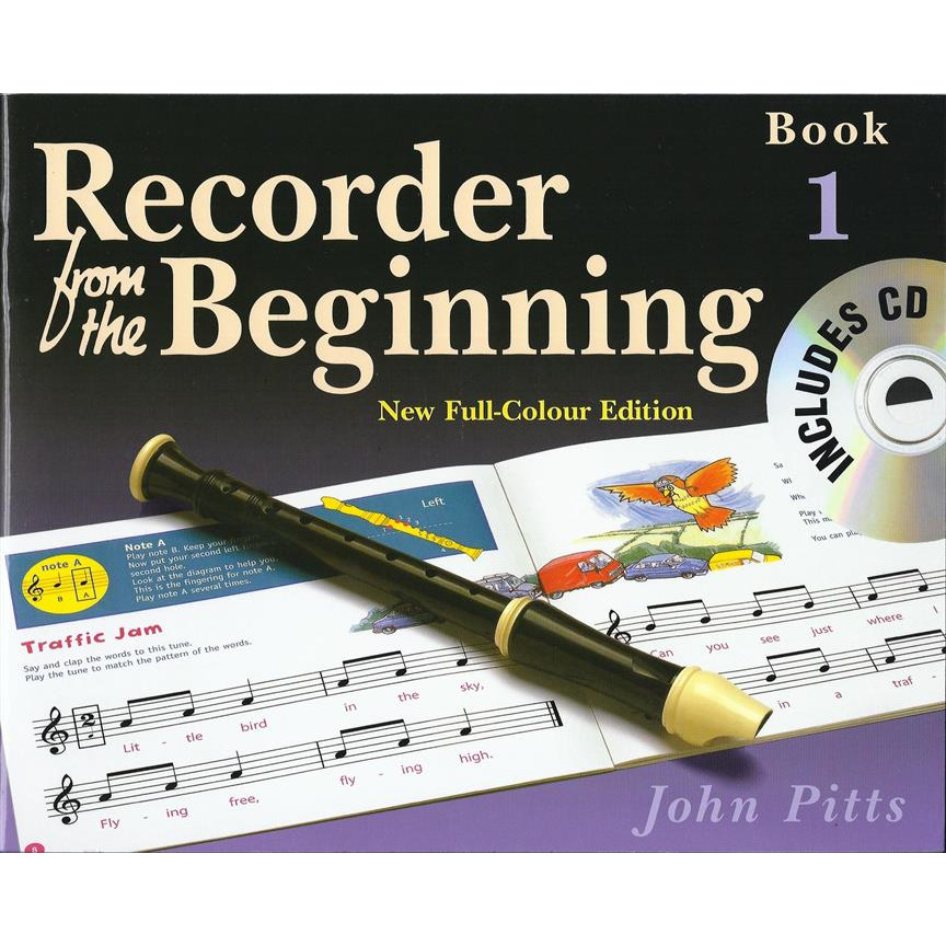 Recorder From The Beginning : Pupil's Book/CD