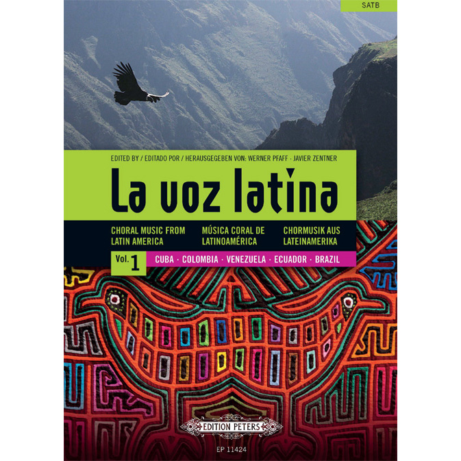 La Voz Latina Vol 1 (Choral Music)