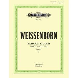 Weissenborn: Bassoon Studies Op.8 Vol 1