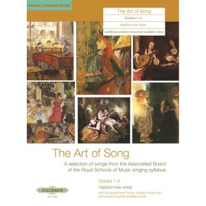 The Art of Song Grades 1-3 Medium-Low Voice