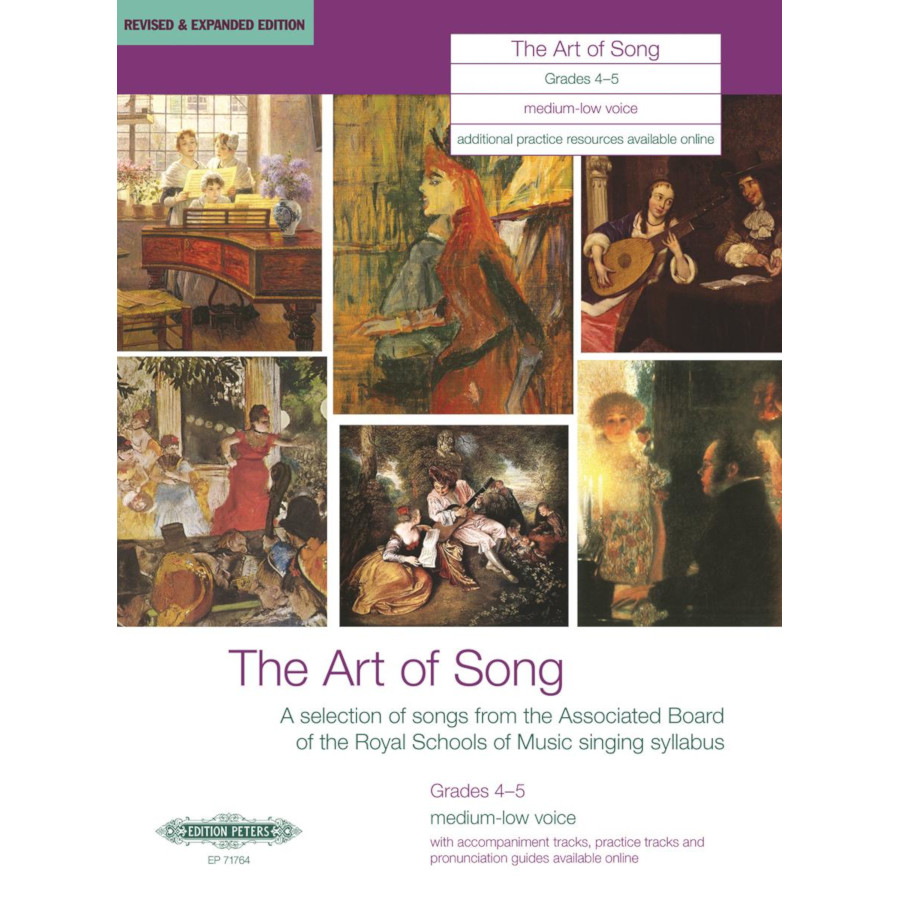 The Art of Song Grades 4-5 Medium-Low Voice