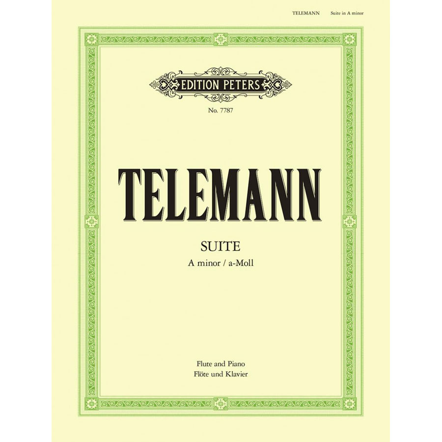 Telemann: Suite in A minor for flute & piano