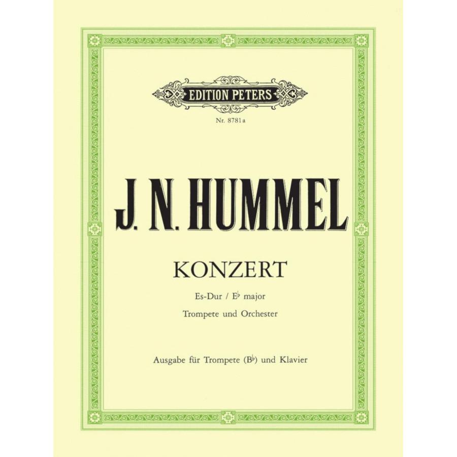 Hummel: Concerto Eb Maj Trp & Piano