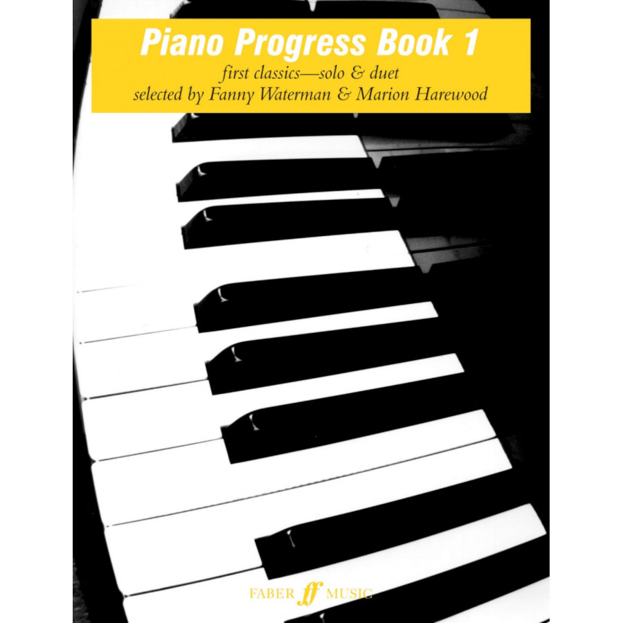 Piano Progress Book 1 (Waterman/Harewood)