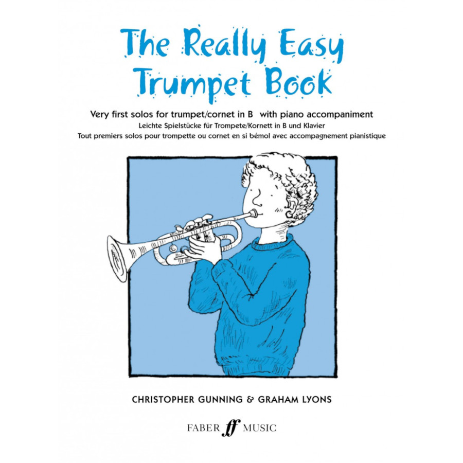 Really Easy Trumpet Book (with piano)